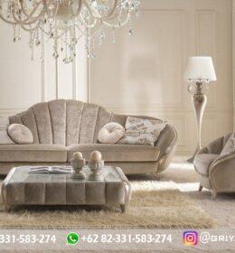 Sofa Ruang Tamu Jati Mewah Kode 119