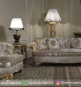 Sofa Ruang Tamu Jati Mewah Kode 121