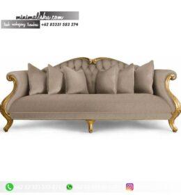 Sofa Ruang Tamu Jati Mewah Kode 123