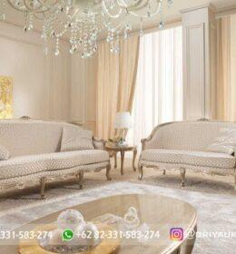 Sofa Ruang Tamu Jati Mewah Kode 126