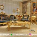 Sofa Ruang Tamu Jati Mewah Kode 127