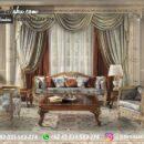 Sofa Ruang Tamu Jati Mewah Kode 131