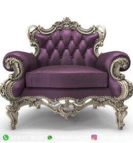 Sofa Ruang Tamu Jati Mewah Kode 133