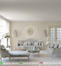 Sofa Ruang Tamu Jati Mewah Kode 140