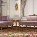 Sofa Ruang Tamu Jati Mewah Kode 141