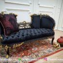 Sofa Ruang Tamu Jati Mewah Kode 142