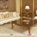 Sofa Ruang Tamu Jati Mewah Kode 146