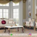 Sofa Ruang Tamu Jati Mewah Kode 148