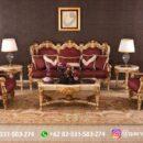 Sofa Ruang Tamu Jati Mewah Kode 150