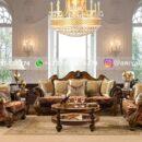 Sofa Ruangan Keluarga Jati Mewah Jepara