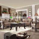 sofa ruang tamu jati warna natural 130x130 - Sofa Ruangan Tamu Jati Mewah Jepara