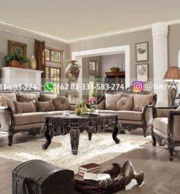sofa ruang tamu jati warna natural 260x280 - Sofa Ruangan Tamu Jati Mewah Jepara