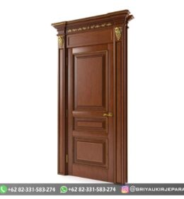 Pintu Jati Minimalis Kode 113