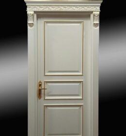 Pintu Jati Minimalis Kode 118