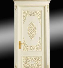 Pintu Jati Minimalis Kode 123