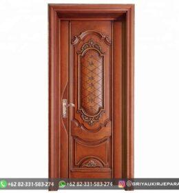Pintu Jati Minimalis Kode 137