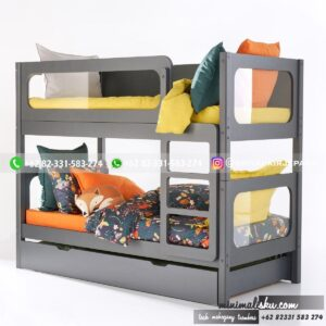 Tempat Tidur Tingkat Minimalis 12 300x300 - 20+ Tempat Tidur Tingkat Minimalis