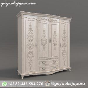 lemari pakaian1 300x300 - Lemari Pakaian Mewah Kayu Jati Kode 055