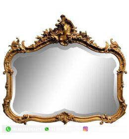 Pigura Cermin Ukir Mewah Kode 132