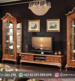 Bufet TV Jati Model Minimalis