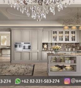 Dapur Kitchen Set Ukir Murah