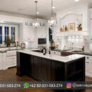 Dapur Kitchen Set Ukiran Model Minimalis