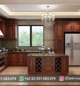 Dapur Ukir Model Minimalis