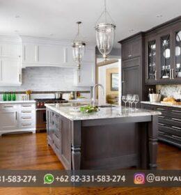 Desain Kitchen Set Furniture Ukiran Jepara