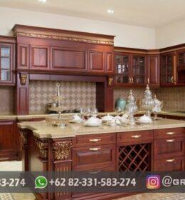 Desain Kitchen Set Jati Mebel Jepara
