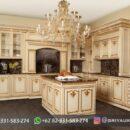 Desain Kitchen Set Kayu Jati Jepara