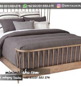 Desain Tempat Tidur Furniture Ukiran Simpel