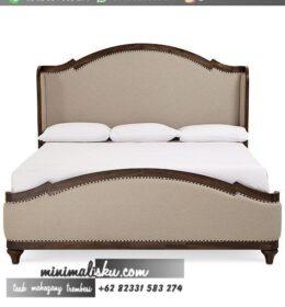 Desain Tempat Tidur Jati Jepara