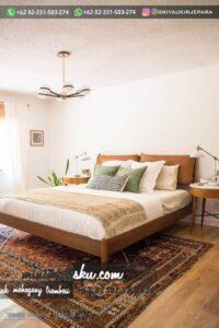Desain Tempat Tidur Jati Minimalis 200x300 - Desain Tempat Tidur Jati Minimalis