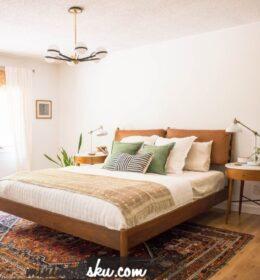 Desain Tempat Tidur Jati Minimalis