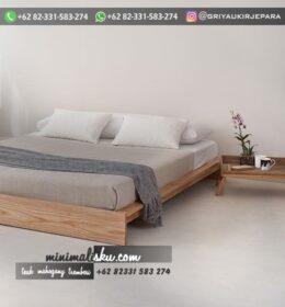 Desain Tempat Tidur Kayu Jati Jepara