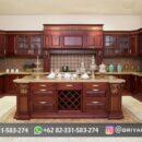 Kitchen Set Kayu Jati Mebel Jepara