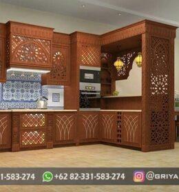 Kitchen Set Model Mewah Griya Ukir Jepara