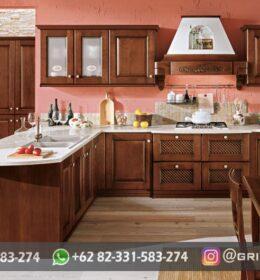 Kitchen Set Ukir Mebel Jepara