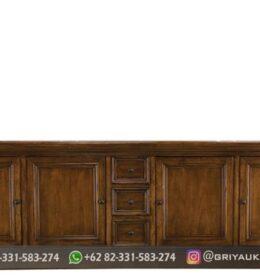 Meja Bufet Furniture Ukiran Murah