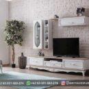 Meja TV Furniture Jati Murah