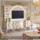 Meja TV Furniture Ukiran Jepara