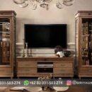 Model Bufet TV Furniture Jati Jepara