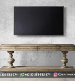 Model Bufet TV Furniture Jati Murah