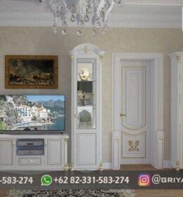 Model Bufet TV Furniture Ukiran Murah