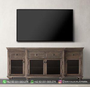 Model Bufet TV Jati Murah 300x293 - Model Bufet TV Jati Murah