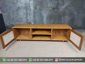 Model Bufet TV Murah Jepara 1 300x225 - Model Bufet TV Murah Jepara
