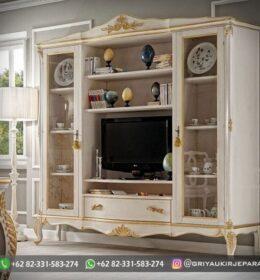 Model Bufet TV Ukiran Mebel Jepara