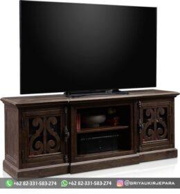 Model Bufet TV Ukiran Murah