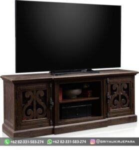 Model Bufet TV Ukiran Murah 278x300 - Model Bufet TV Ukiran Murah