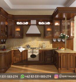 Model Kitchen Set Furniture Jati Mebel Jepara